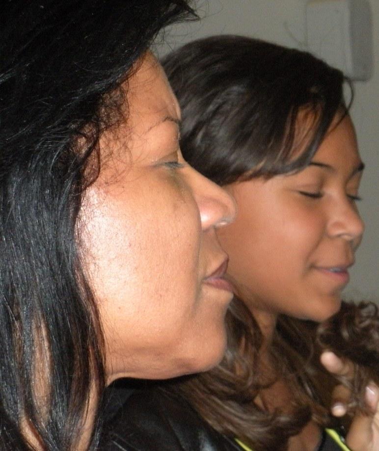 Cecilia and Christa