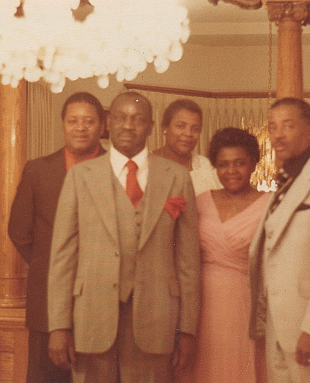 Hicey and Myrtle Ross Wedding 1979 B